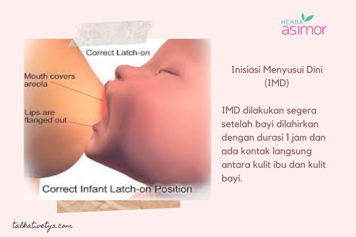 pentingnya IMD untuk bayi dan ibu