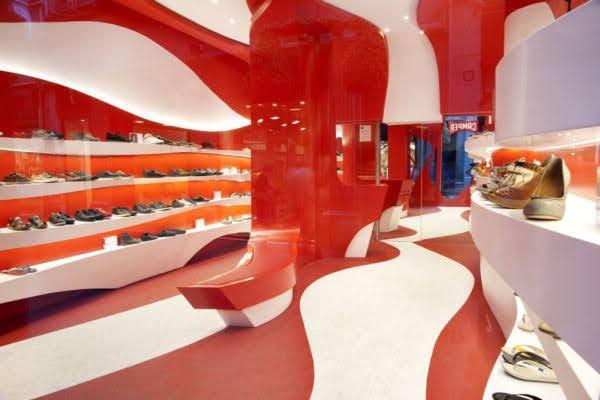 thiết kế shop giày dép đẹp