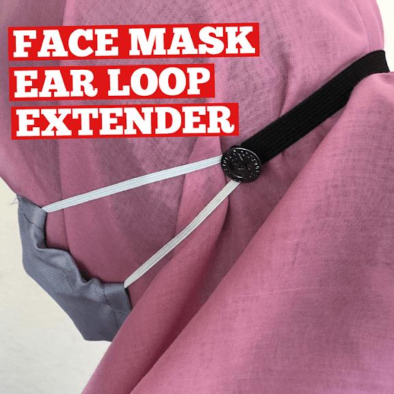 face mask ear loop extender