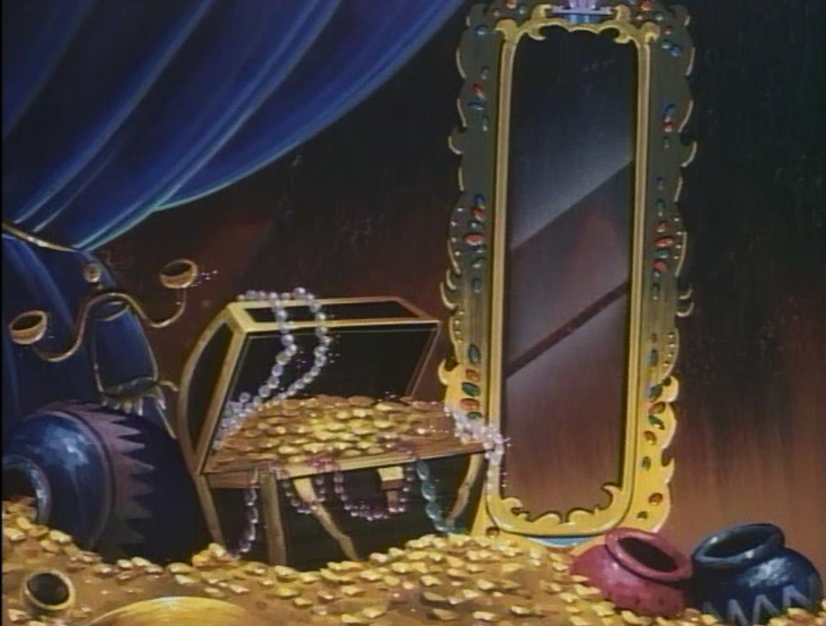 The faerie dragons' treasure room