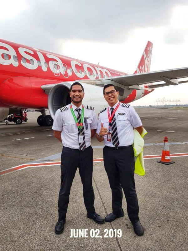First Flight as Captain Pilot