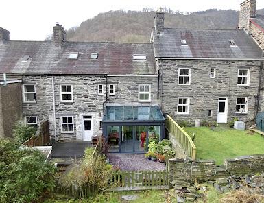 A period terraced village home