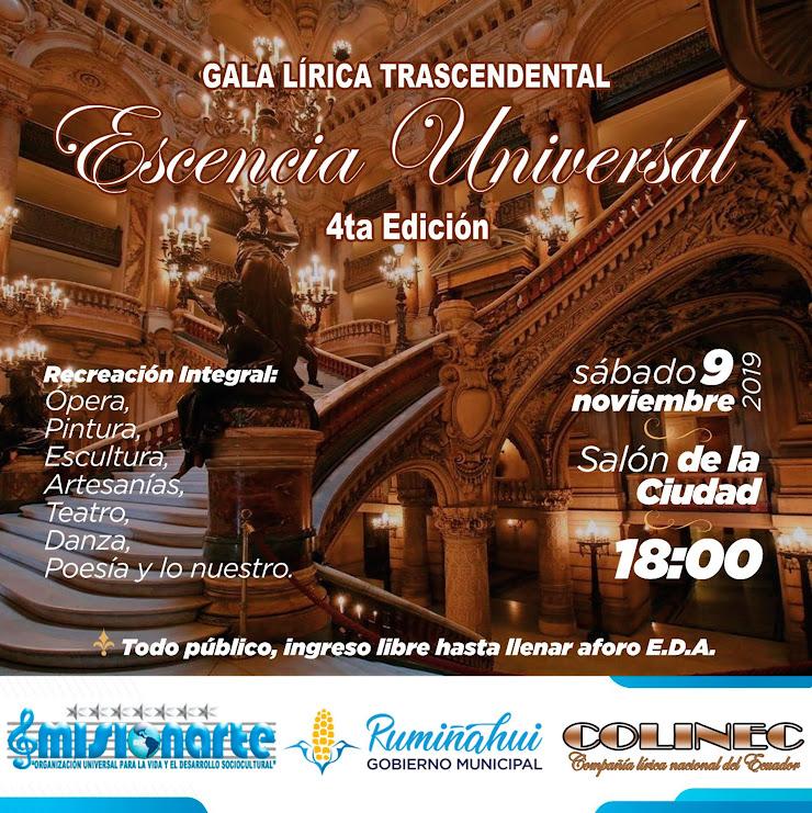 GALA LIRICA 4E COLINEC MISIONARTE AFICHE