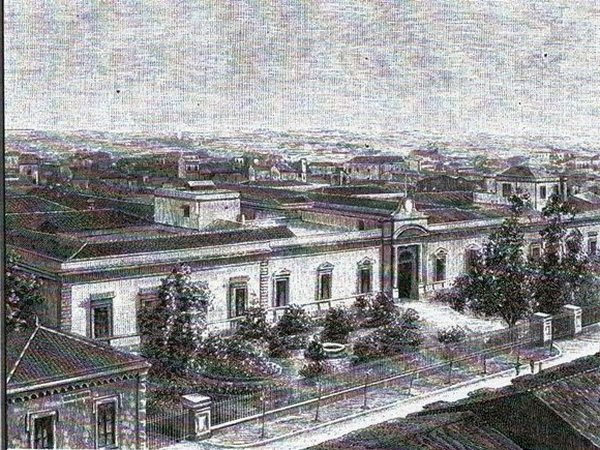 OVE - facciata di ingresso - Catania