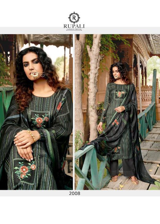 Zheel Rupali Pashmina Dress Material Manufacturer Wholesaler