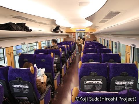 東武鉄道 500系「Revaty」 車内