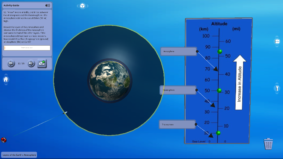 지구 대기의 층