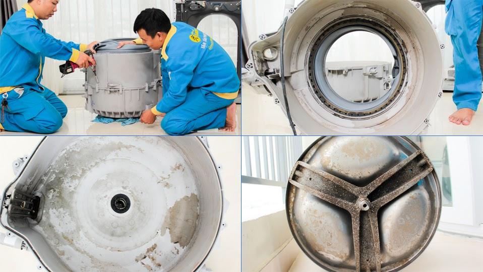 Vệ sinh định kỳ máy giặt