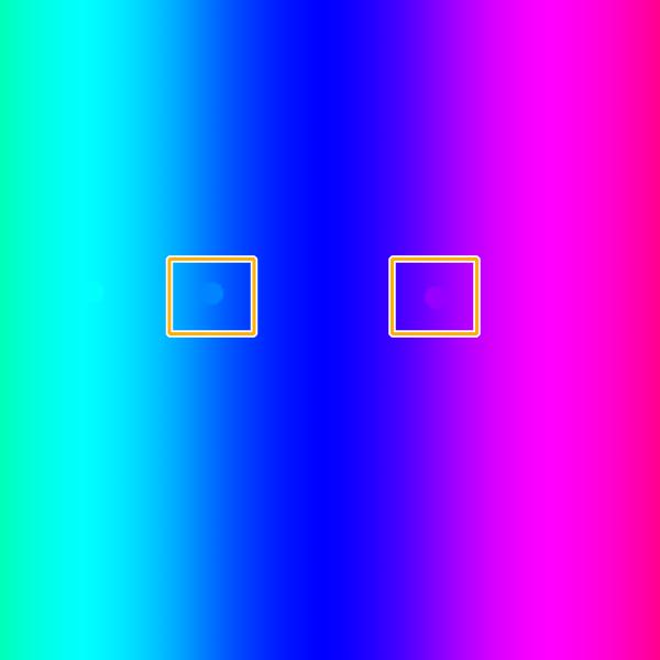 クリスタ:透明の穴を周囲の色で埋める