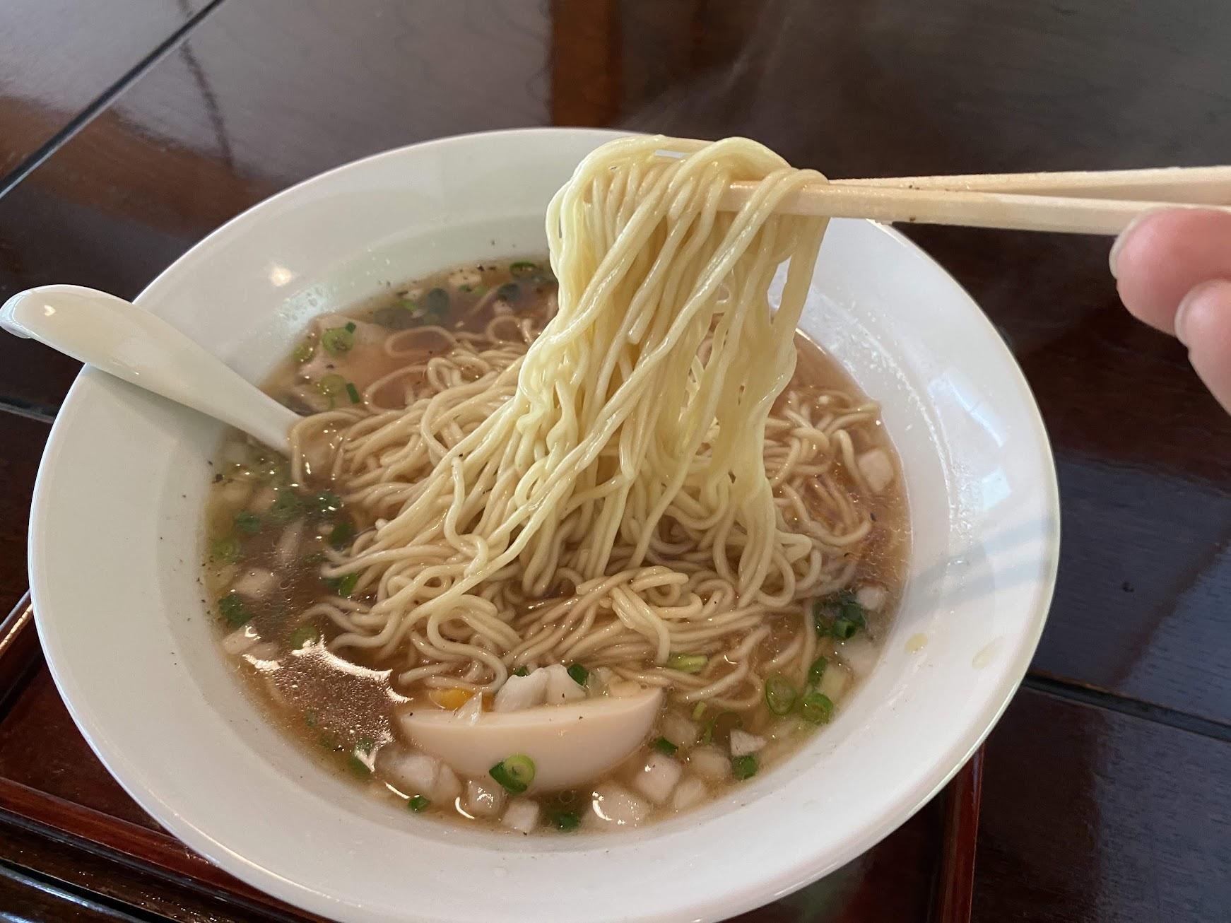 中華そば(細麺)