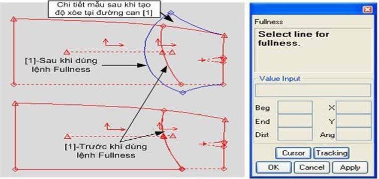 Các Lệnh Tạo Chi Tiết Xếp Ly Cho Chi Tiết Trong Gerber PDS 13