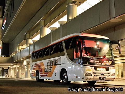 南海バス「サザンクロス」長岡・三条線 なんば高速BTにて