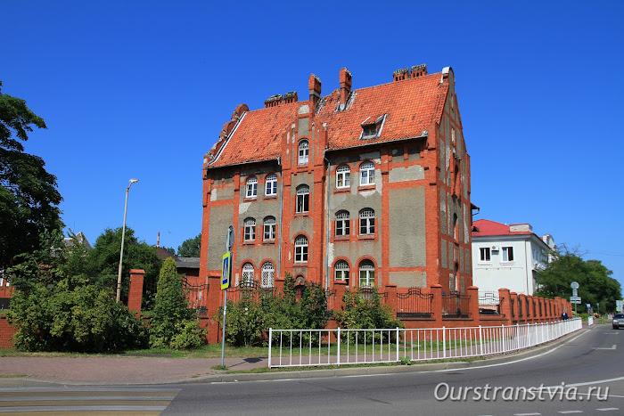 Пехотные казармы в Балтийске
