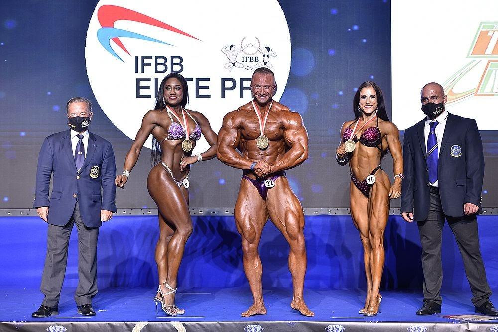 Malta IFBB PRO Elite 2020; Resultados y Fotos