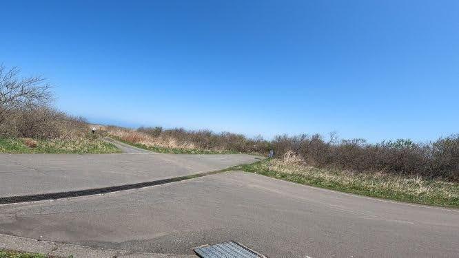 渡島砂原・砂崎灯台 入口
