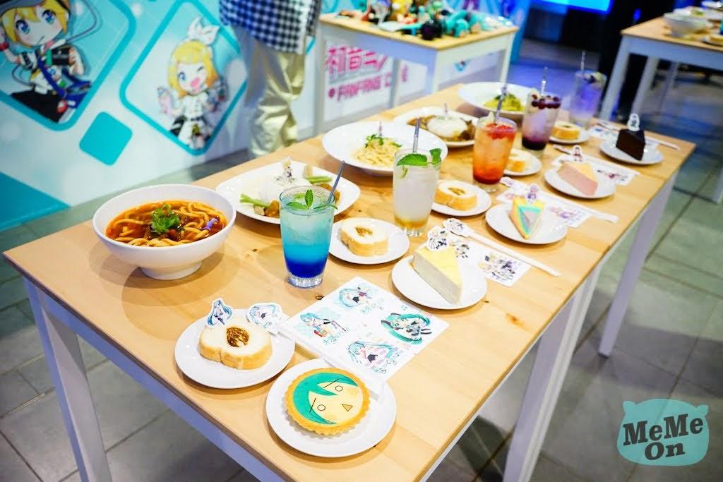 《 初音未來 @FANFANS CAFÉ》主題餐廳搶先看!