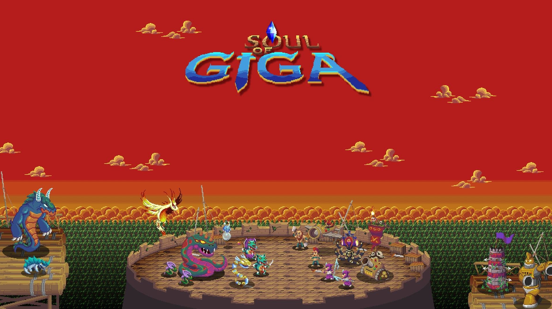 Journey the Harsh and Beautiful Lands of Giga in Soul of Giga