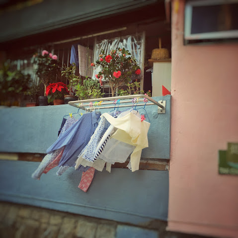 Laundry, Day, Hong Kong,   香港, 洗衣, 日,  washing clothes, hang dry, clothes