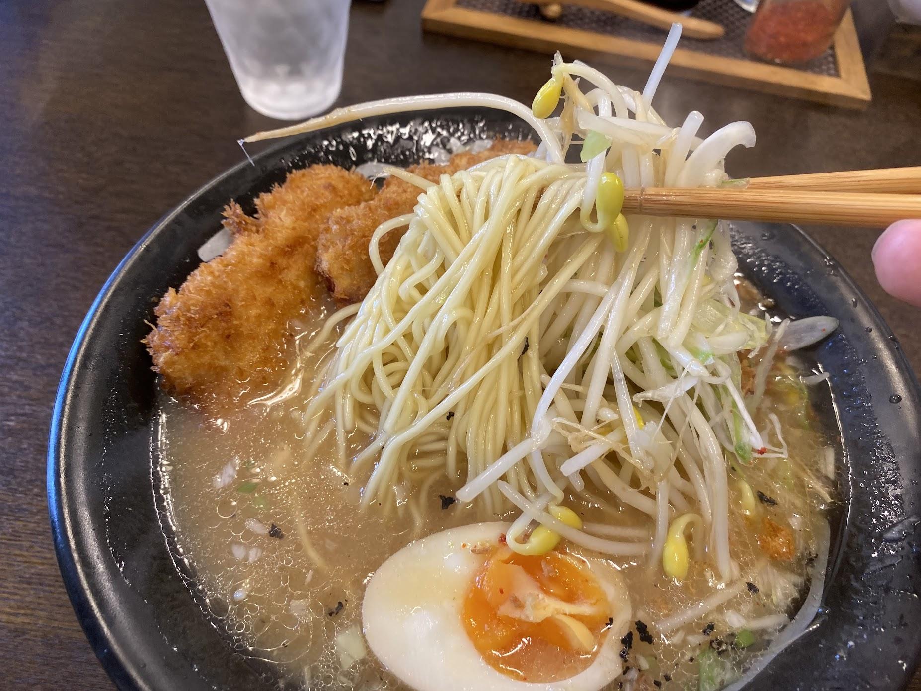 ストレート細麺