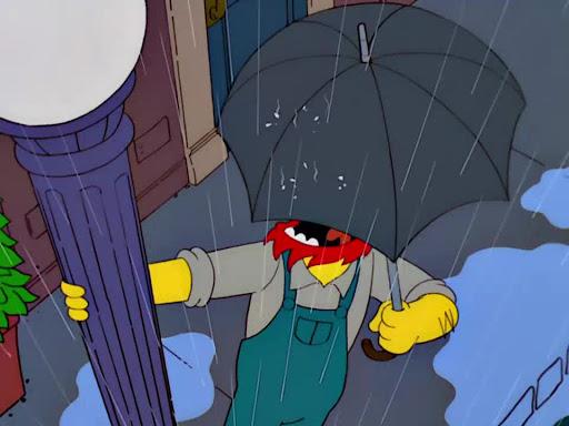 Los Simpsons 13x07 Conflictos familiares