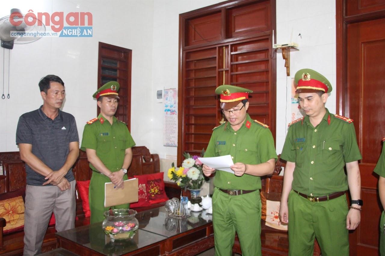 Phòng Cảnh sát Kinh tế Công an tỉnh khám xét, bắt giữ                    đối tượng tham nhũng trong lĩnh vực Nhà nước