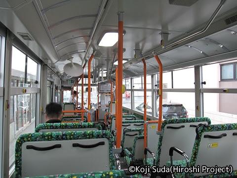 沿岸バス「11 豊富羽幌線」 1705 車内