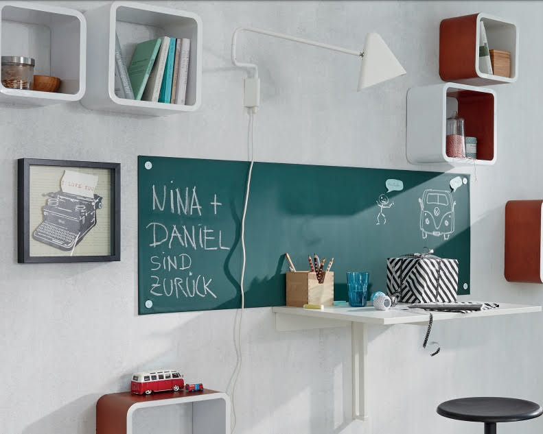 Krijtbordfolie / schoolbordfolie donkergroen 90cm x 150cm