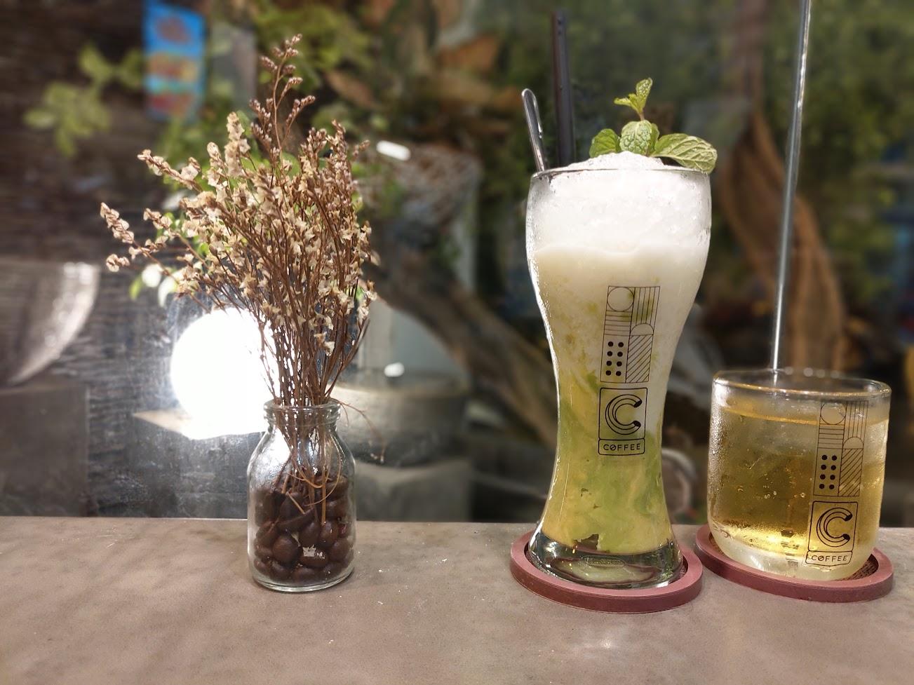 Bơ dầm ở C Coffee 44 Hoàng Dư Khương quận 10