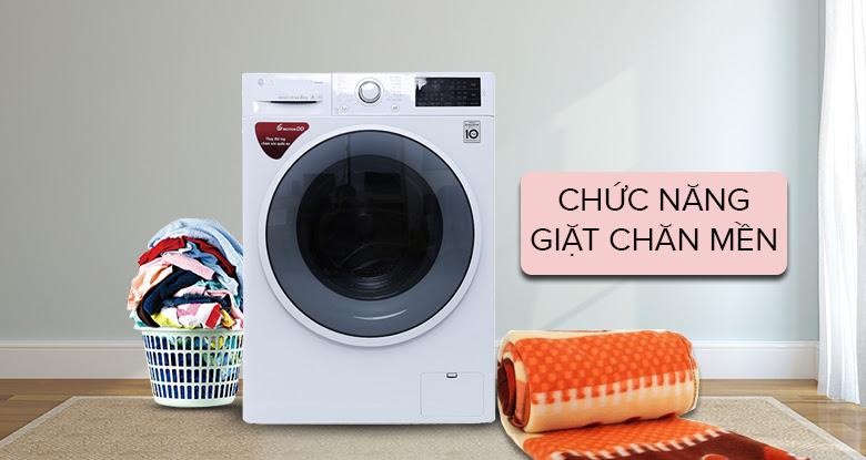 Máy giặt có chức năng giặt chăn mền