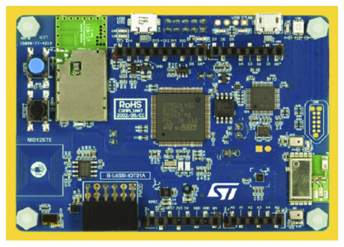 STM simplifies IoT node development