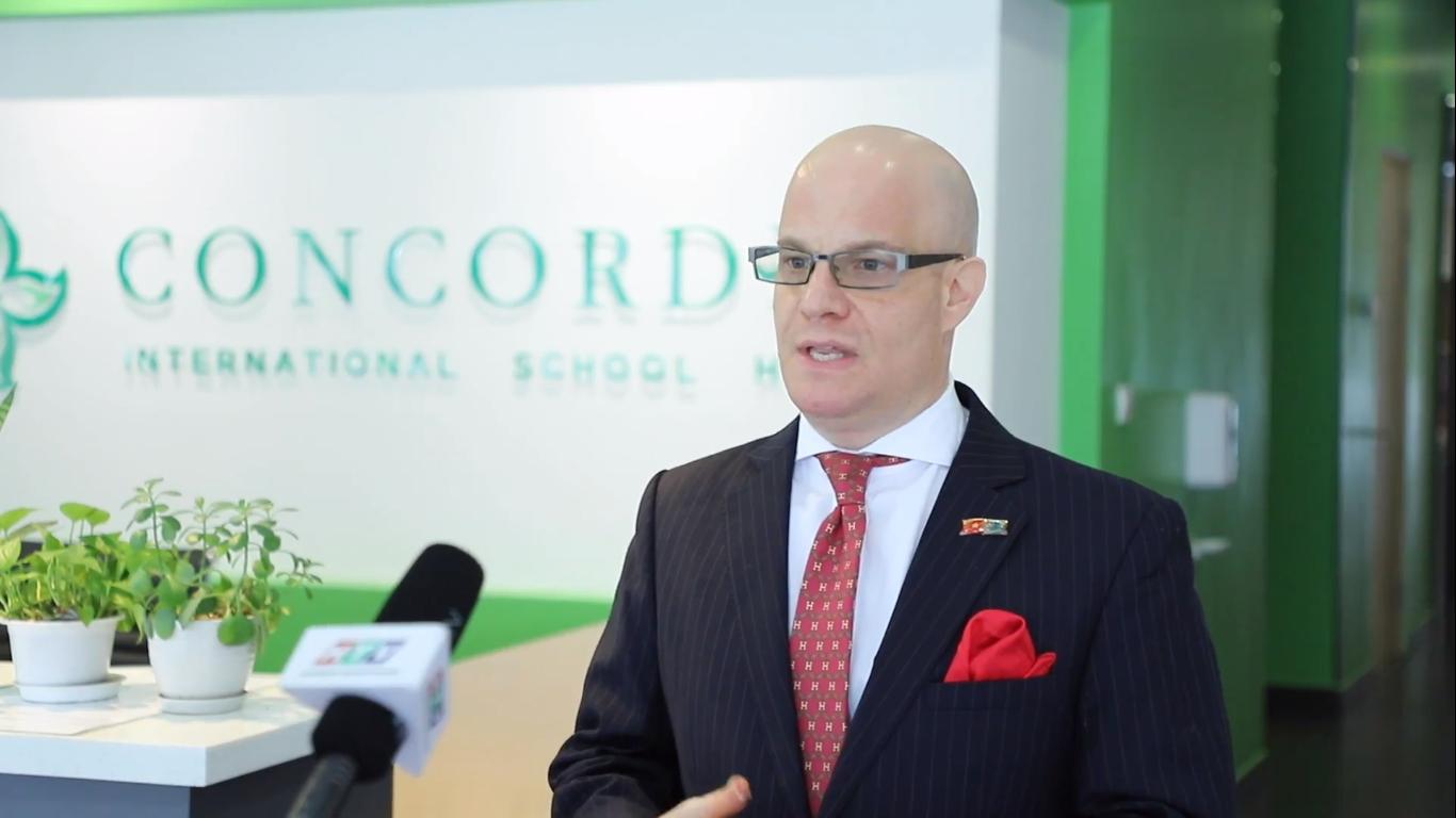 Điều hòa trung tâm Panasonic được trường quốc tế Concordia đánh giá cao