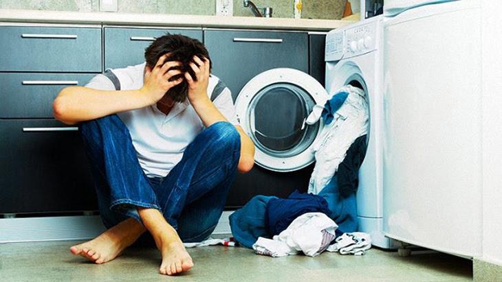 Vết xám, đen trên đồ giặt