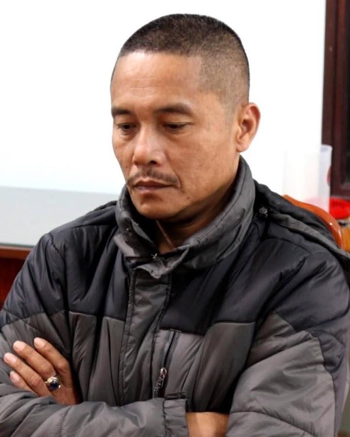 Đối tượng Nguyễn Qúy Sơn bi cơ quan Công an tỉnh Quảng Bình bắt giữ