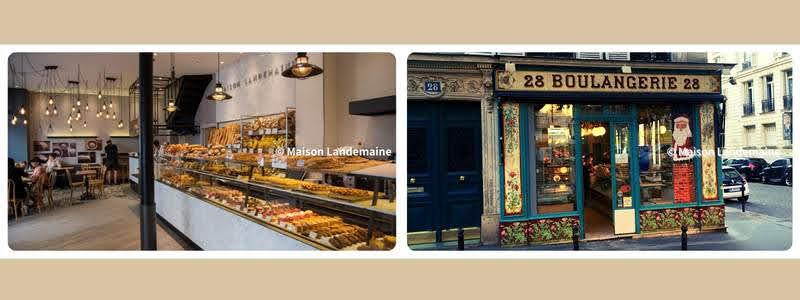 パリのパンオショコラ LANDEMAINE メゾン・ランドゥメンヌ