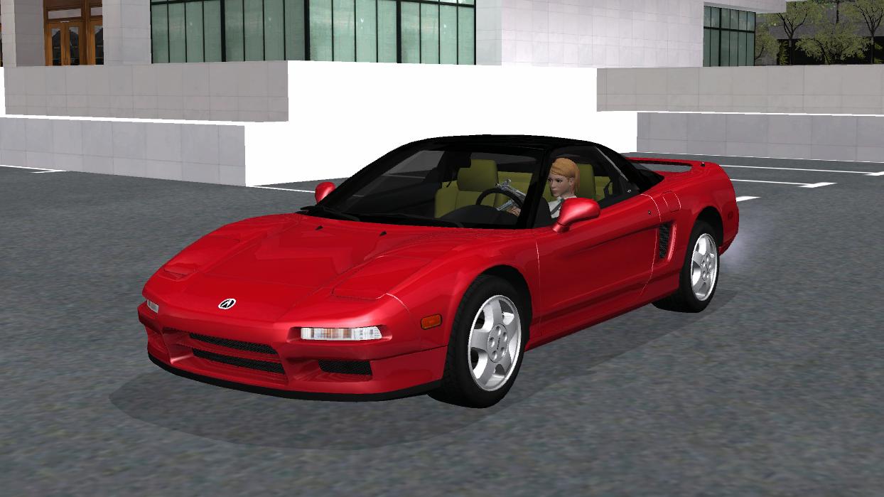 【車Mod】ホンダの欧米版!アキュラ NSX 1991