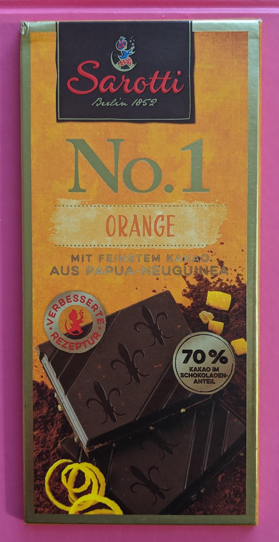 70% sarotti orange bar