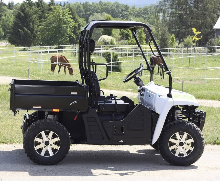 Electric E5 utv 60 Volt farm vehicle Battery Operated side by side ute ssv agricultural offroad 2wd 2x4