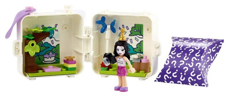 Contenido de Lego® 41663 Cubo-Dálmata de Emma