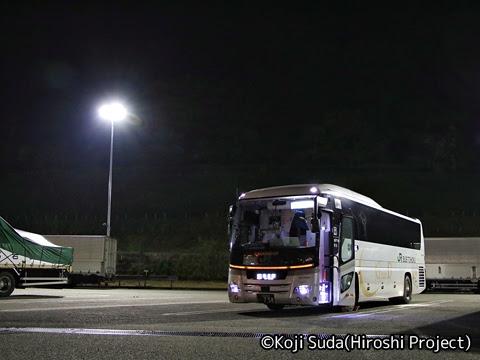 JRバス東北「百万石ドリーム政宗号」 H677-18408 有磯海SAにて_01
