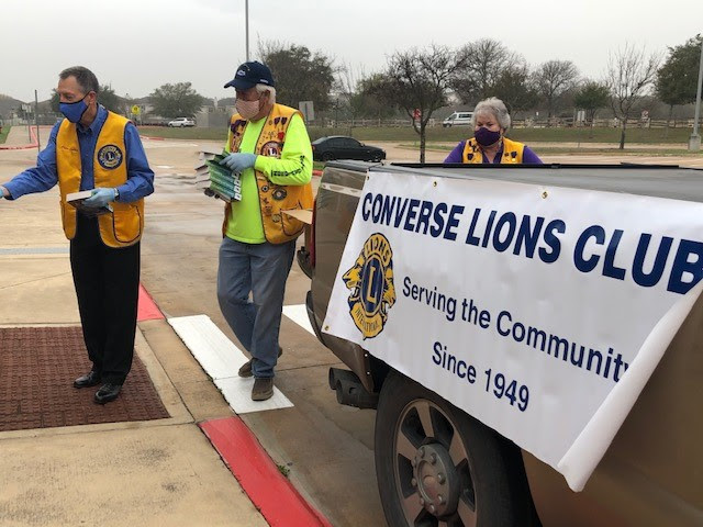 Lions Club Dictionary Distribution