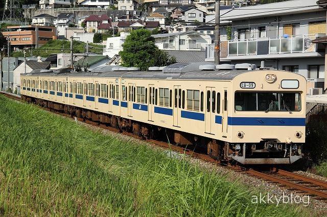 【鉄道写真】最も原型に近い103系 B-09編成 の記録