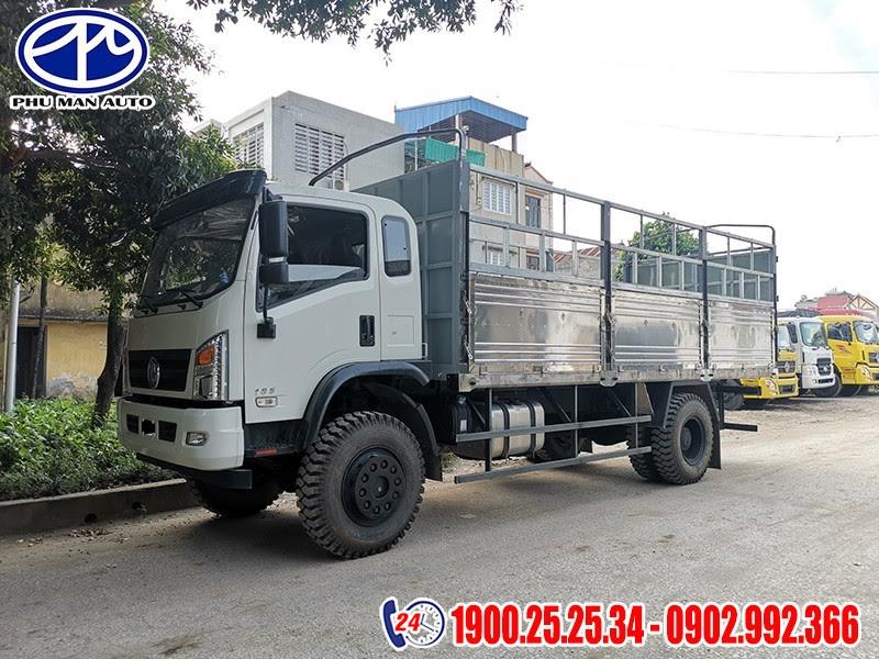thùng xe tải dongfeng 2 cầu 7 tấn