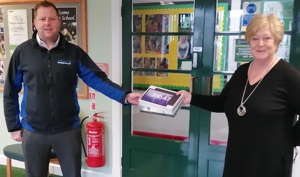 Tablets donated to Welshpool High School