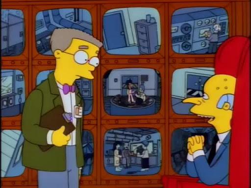 Los Simpsons 8x10 Los expedientes secretos de Springfield