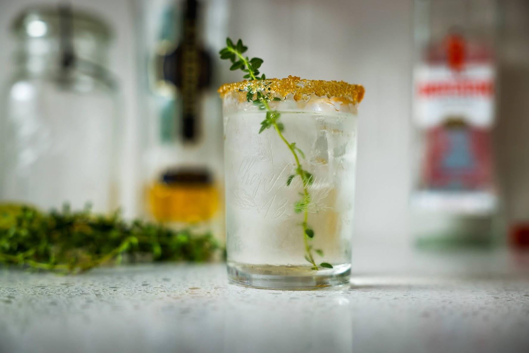 Writer's Block: A Gin & Lemon Thyme Summer Cocktail
