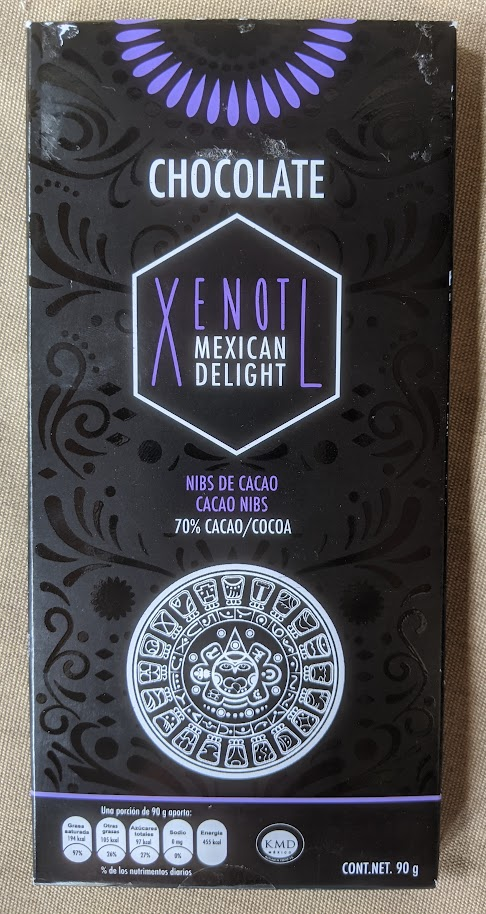 70% mexican delight bar