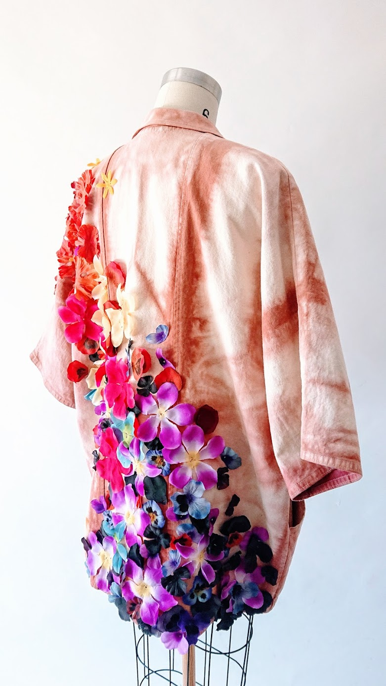 Result: Gardening Coat - Refashion Project | Fafafoom Studio