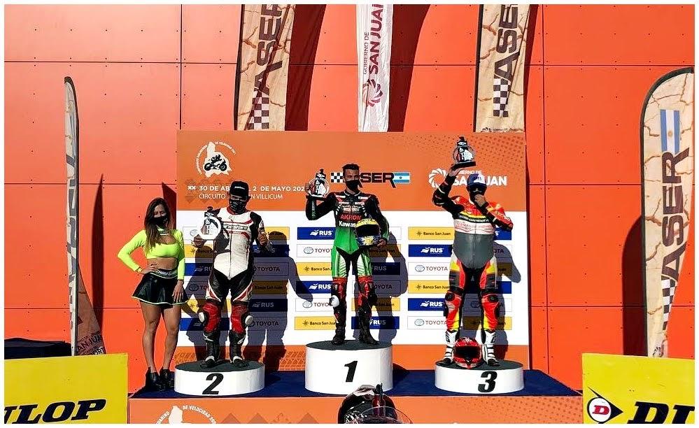 Todos los podios del Sanjuanino de Velocidad en Villicum