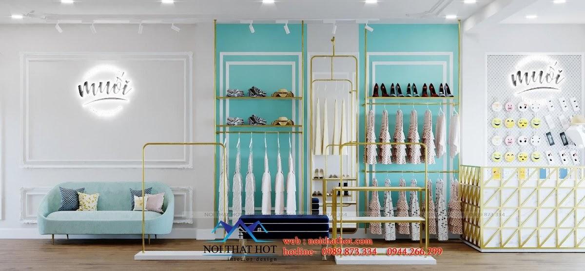 thiết kế cửa hàng hợp phong thủy