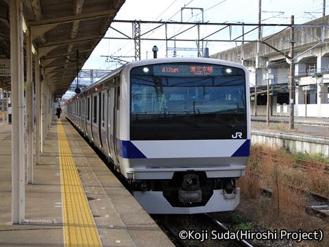 JR東日本 E531系 東北本線仕様 黒磯にて